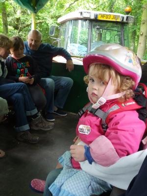 Tractor trailer ride
