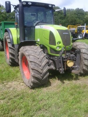 Farm machinery display