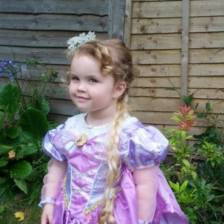 Rapunzel in the garden