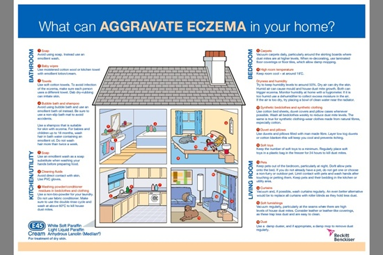 eczema in the home