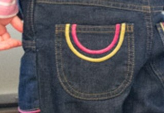 Grubbies dungarees pockets