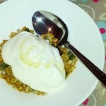 Recipe for healthy homemade granola