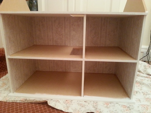 assembling dolls house